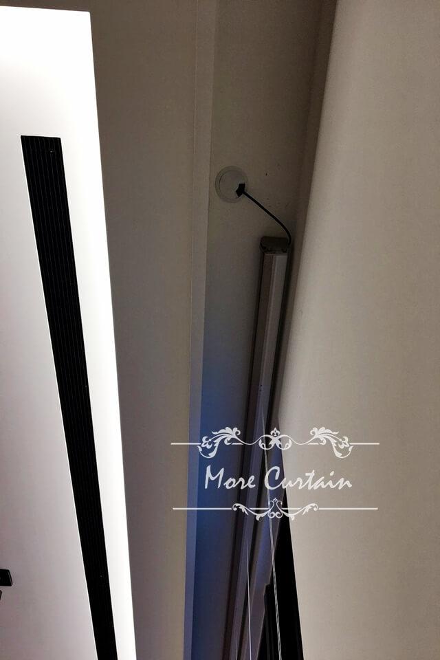 電動窗簾 窗簾盒電源